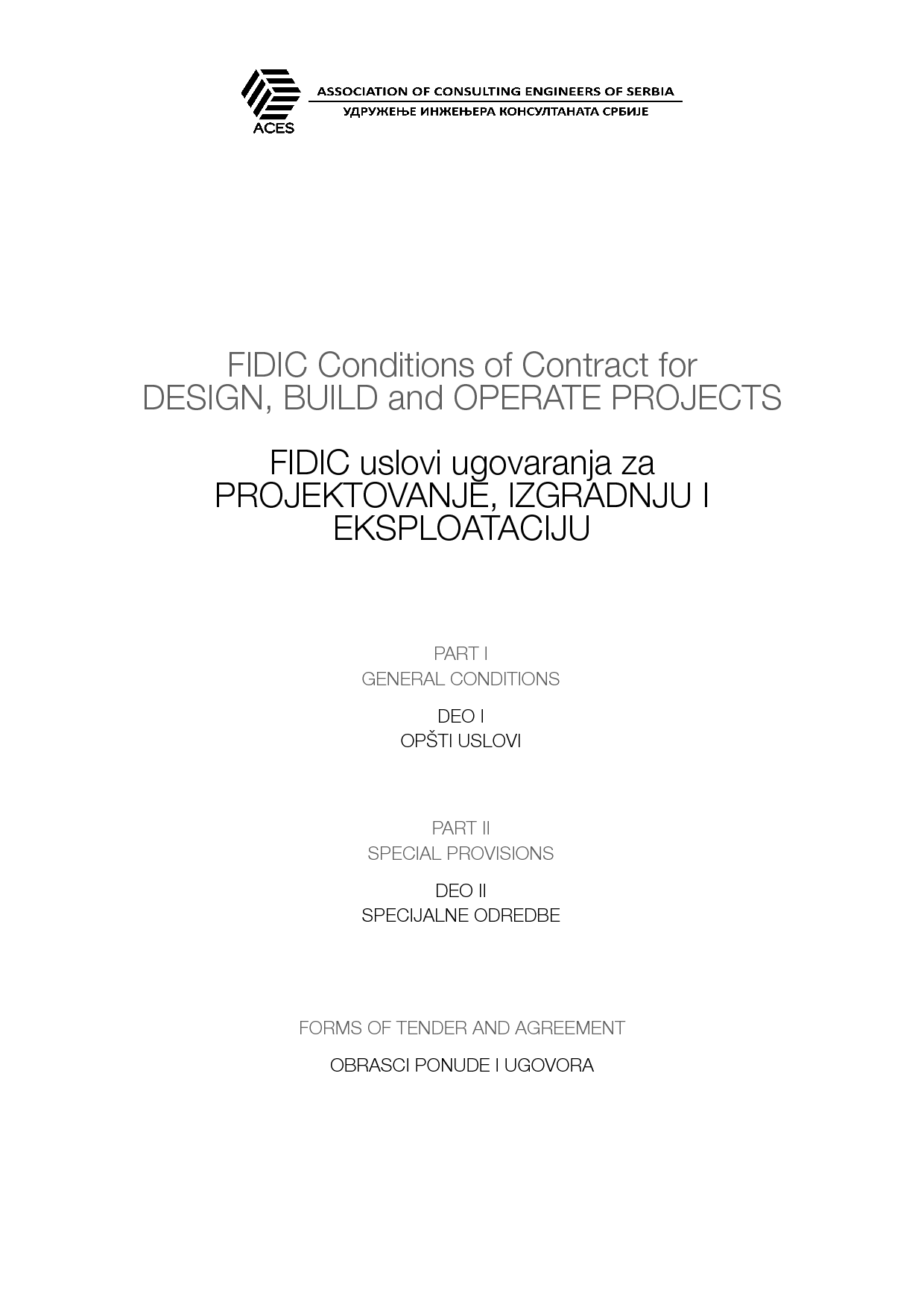 Dbo Contract 1st Ed 2008 Gold Book International Federation Of