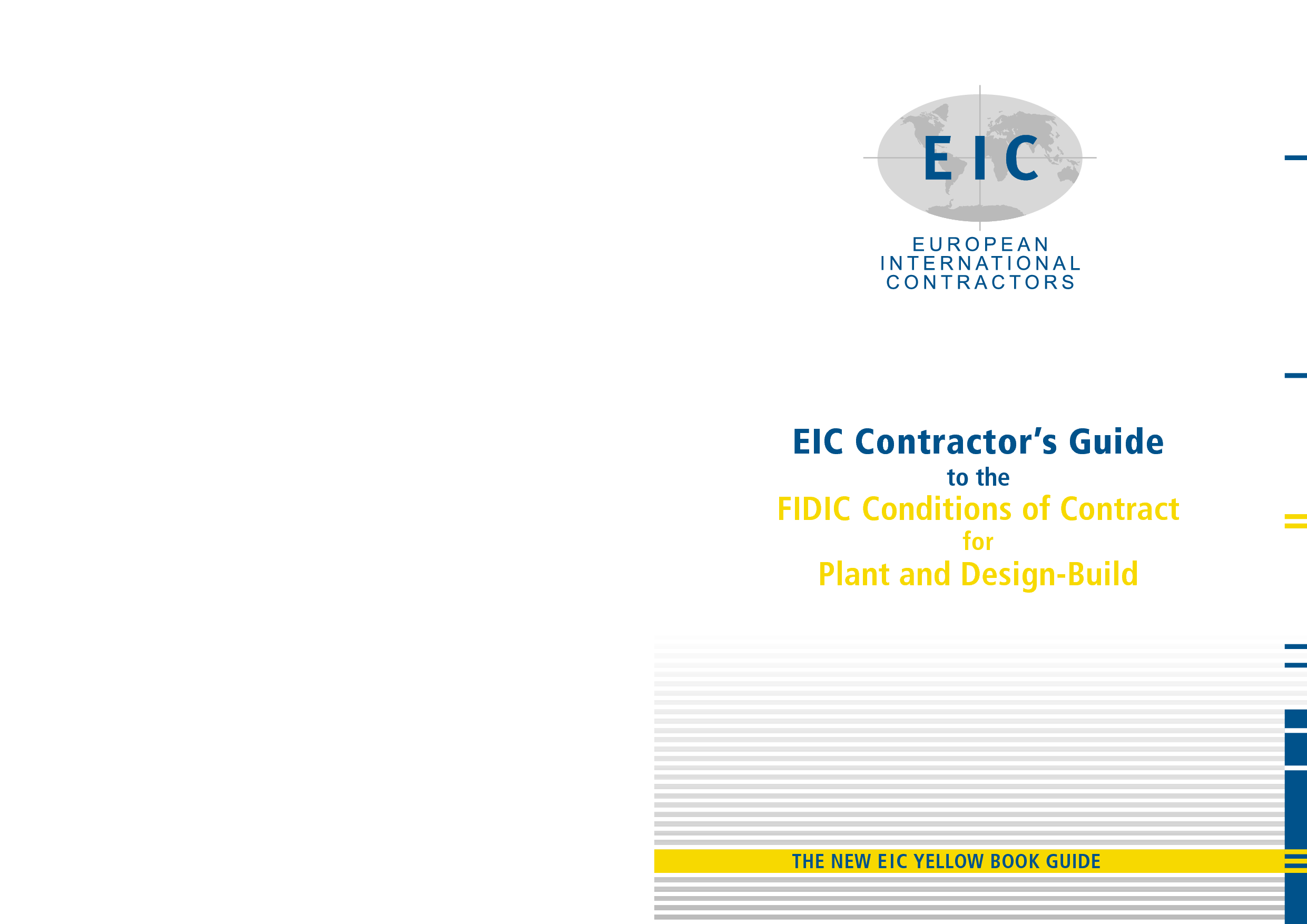 fidic yellow book plant and design build contract