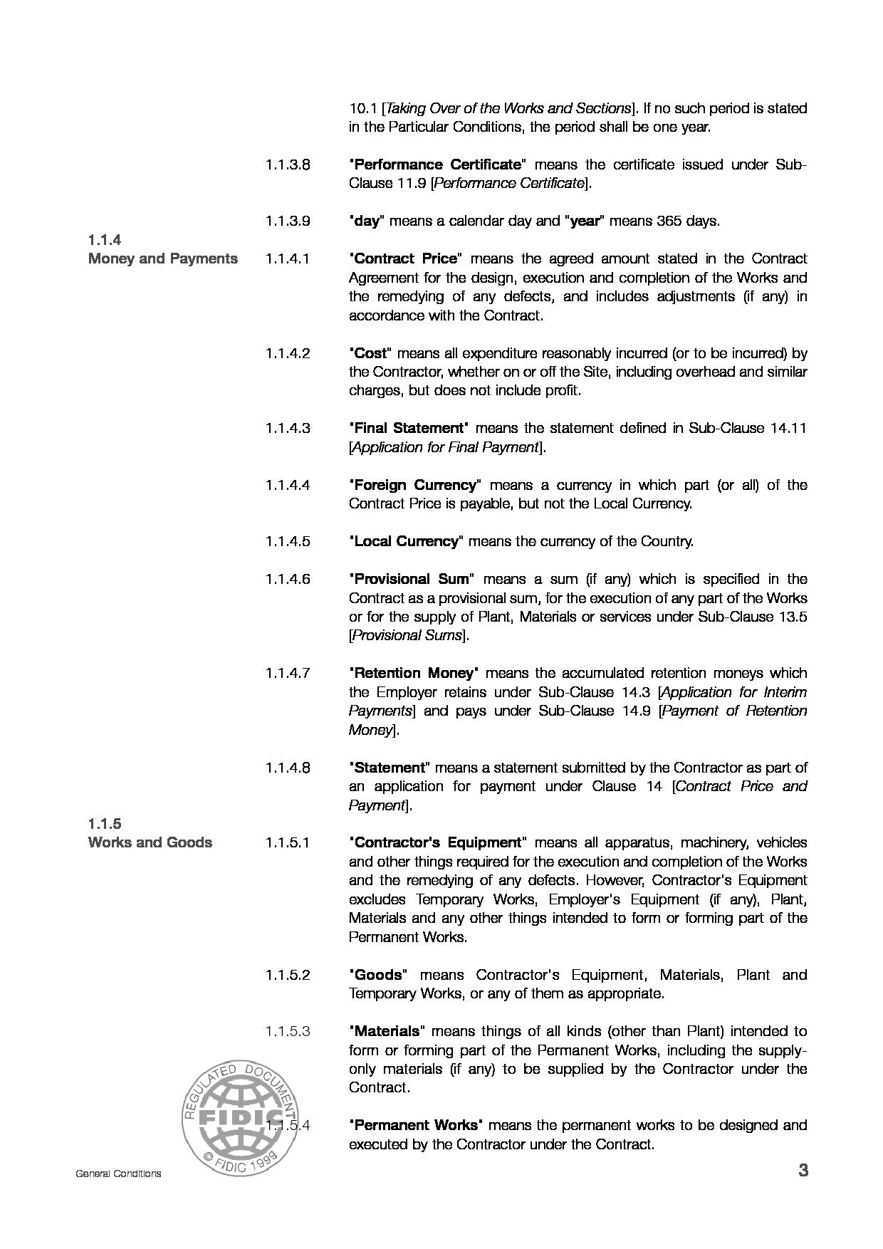 Fidic silver book pdf download.