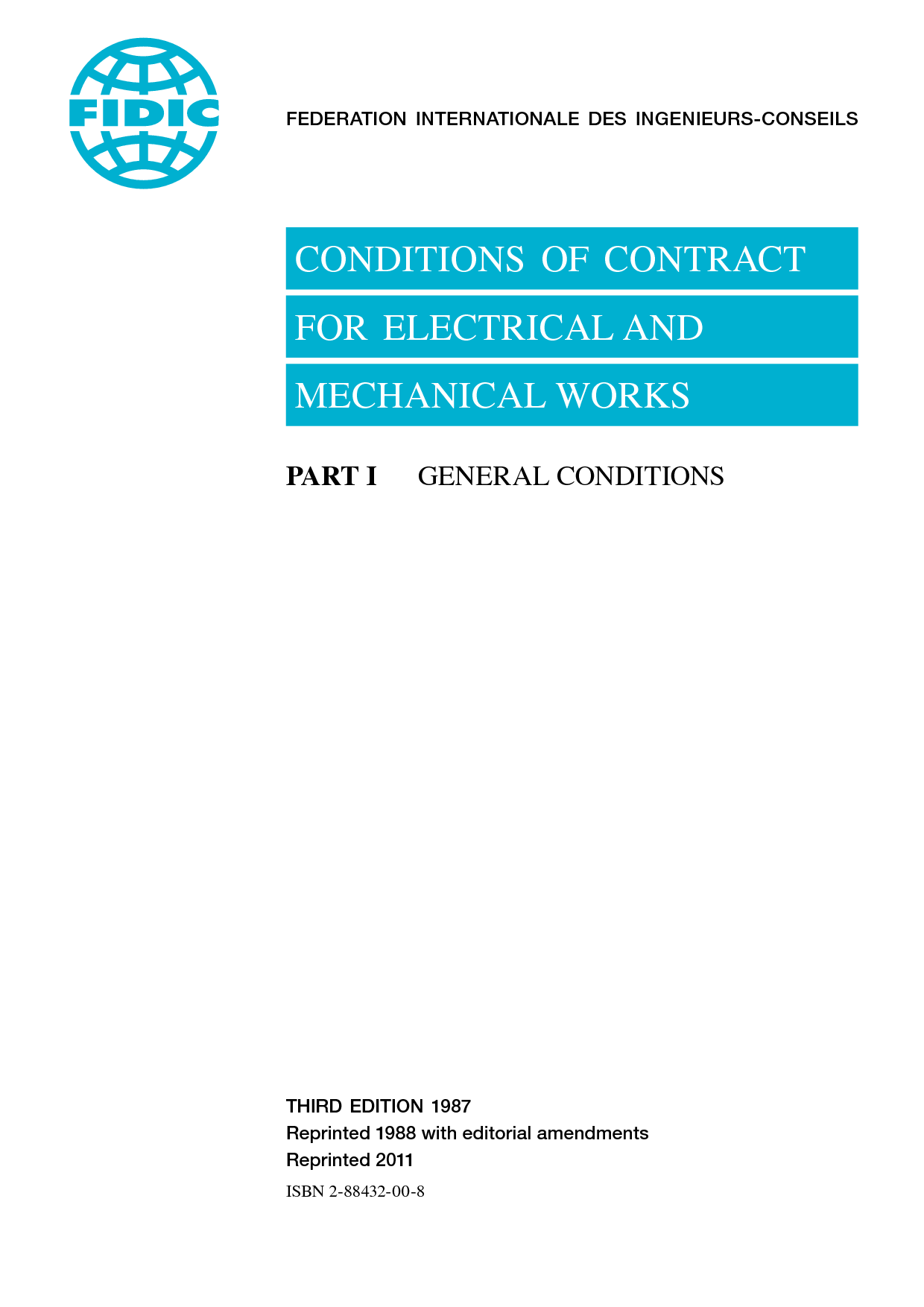 electrical and mechanical works 3rd ed  1987 yellow book
