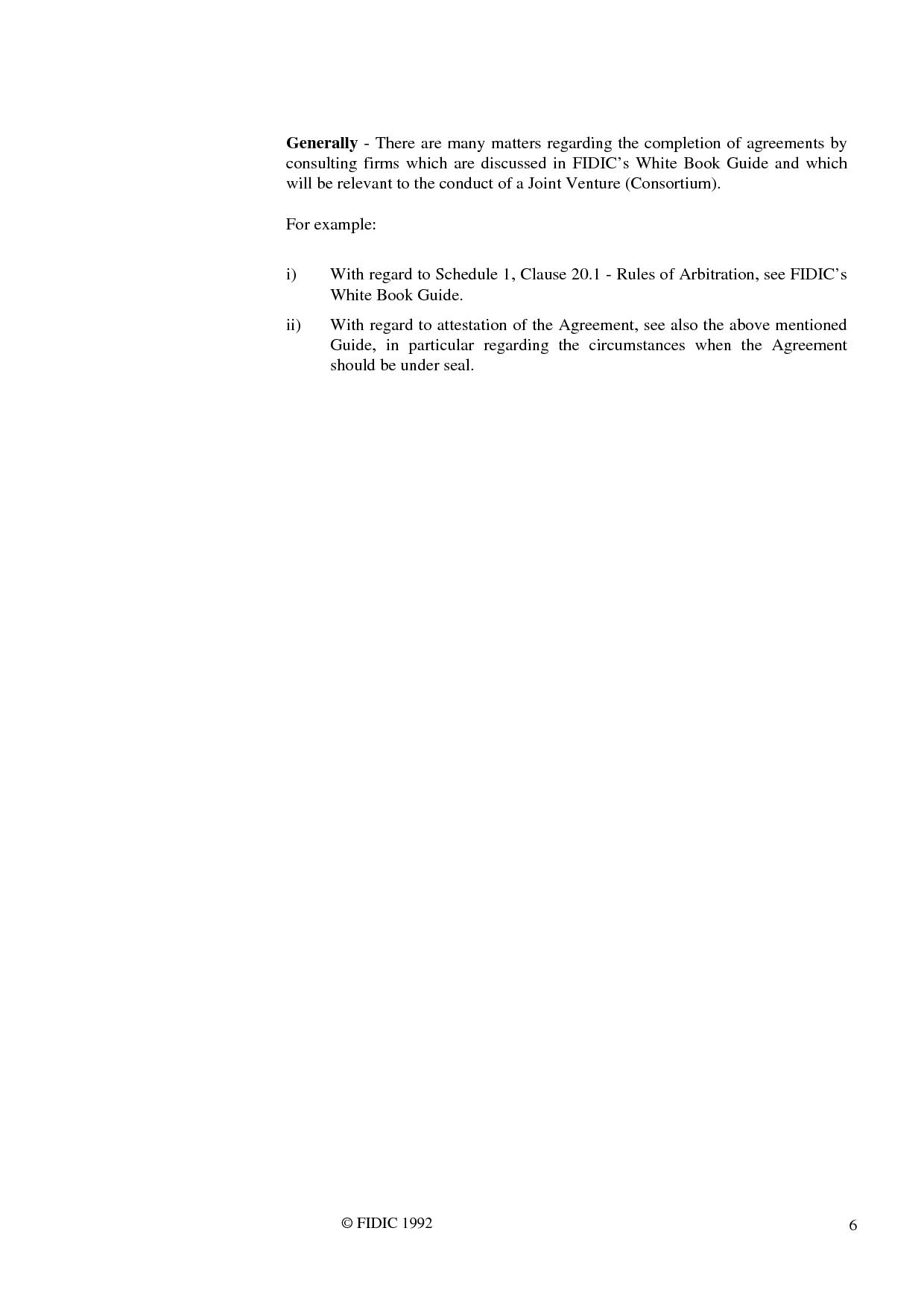 Joint venture agreement 1st ed 1992 international federation joint venture agreement 1st ed 1992 platinumwayz