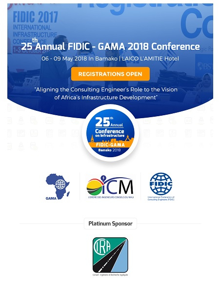 gama 2018 conference international federation of consulting engineers